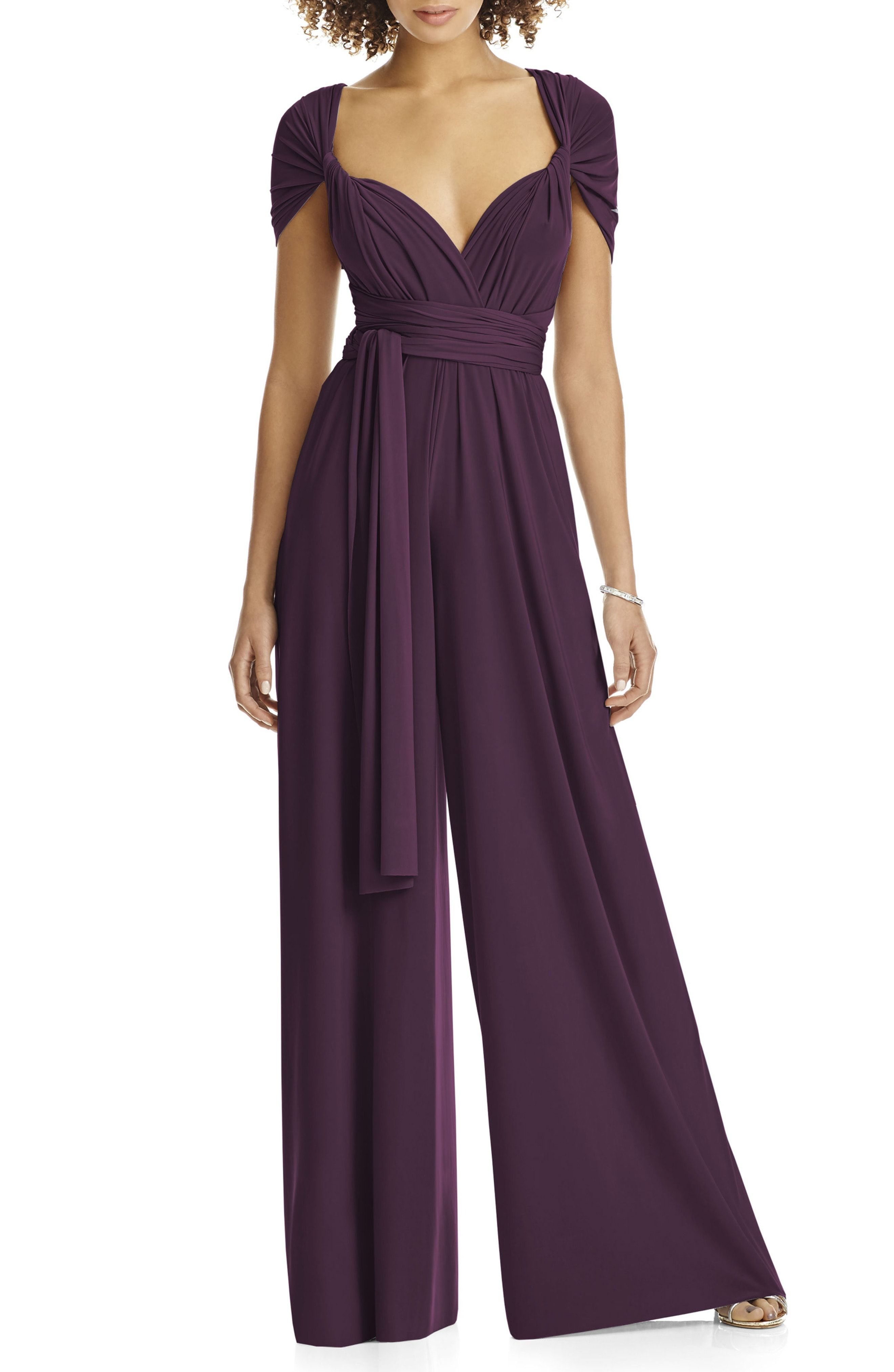 8251909b36a 25 Dressy Jumpsuits for Wedding Guests 2019 - Best Jumpsuits to Wear to a  Wedding