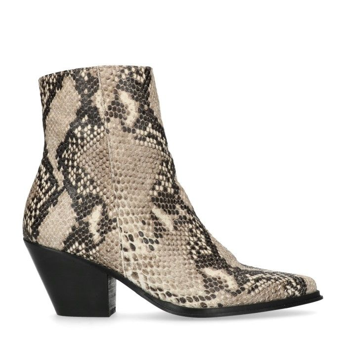 fashion #boots #shoes #enkellaars #snake #Mango #wehkamp