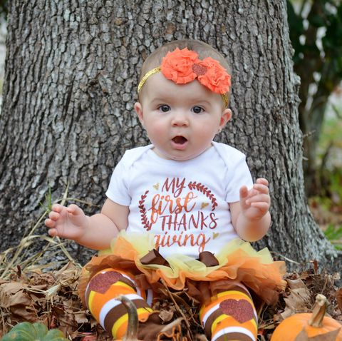 0d4f4ba3533c 20 Baby Thanksgiving Outfits - Cute Girl & Boy Infant Clothes for ...