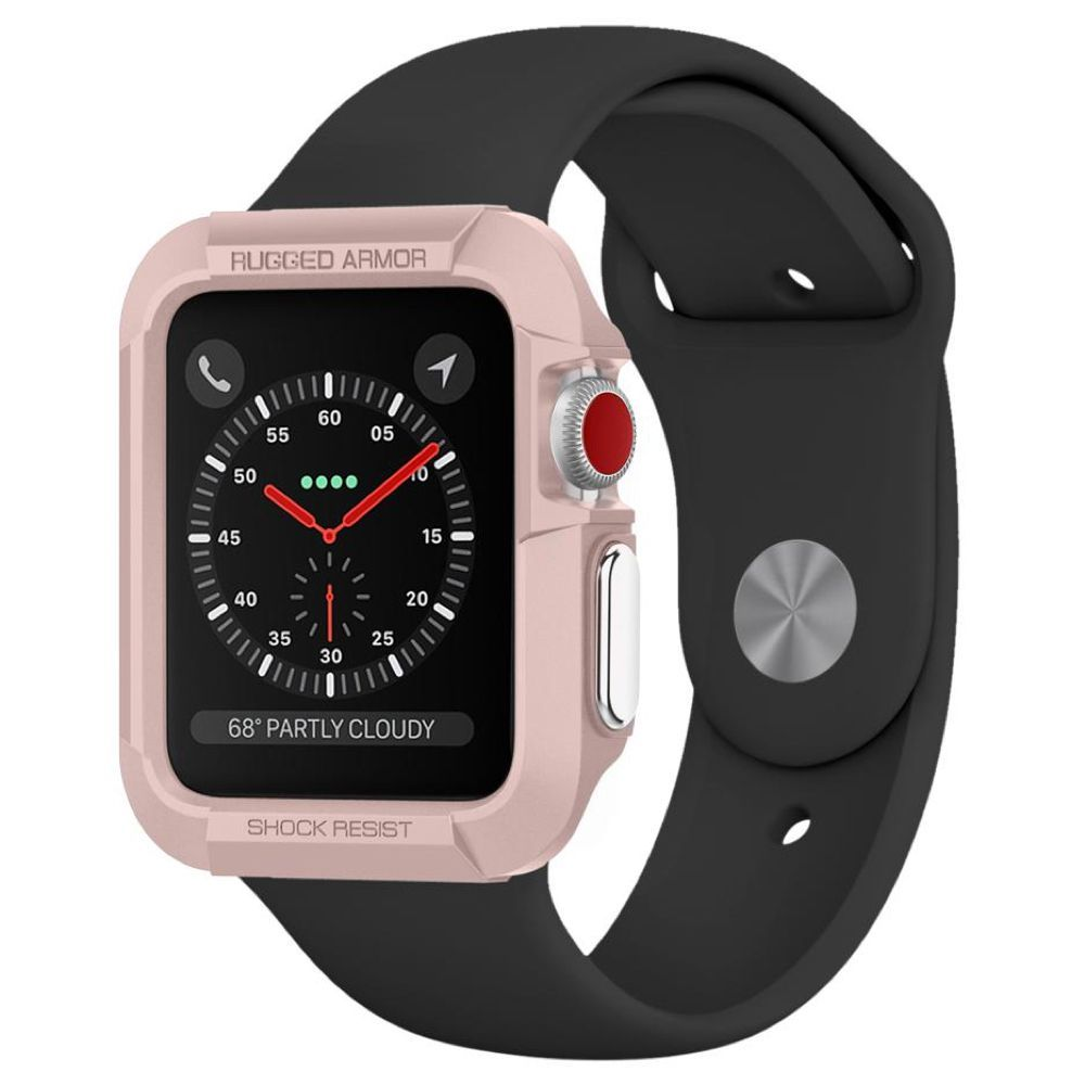 watch 95828 1e6ce Spigen Rugged Armor Case for Apple Watch Series 1, 2, and 3