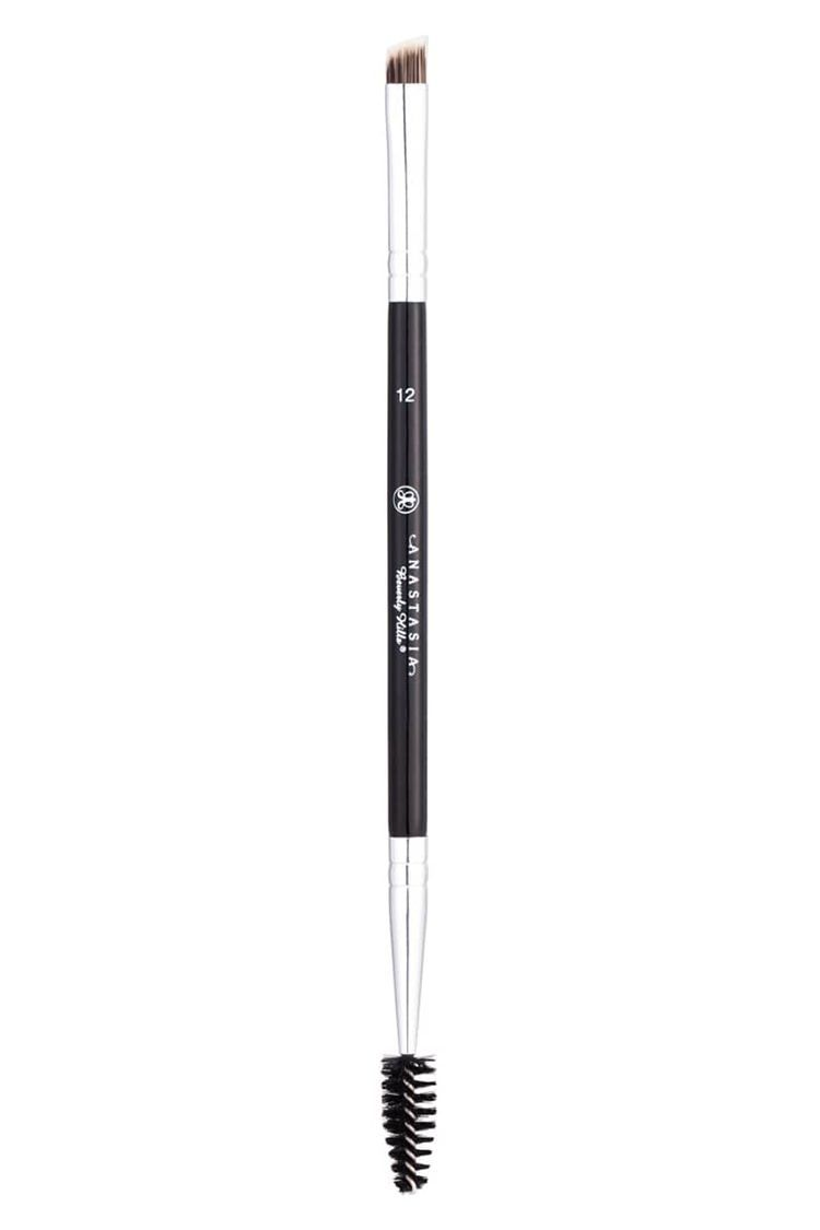 208 Synthetic Angled Brow Brush by MAC #22