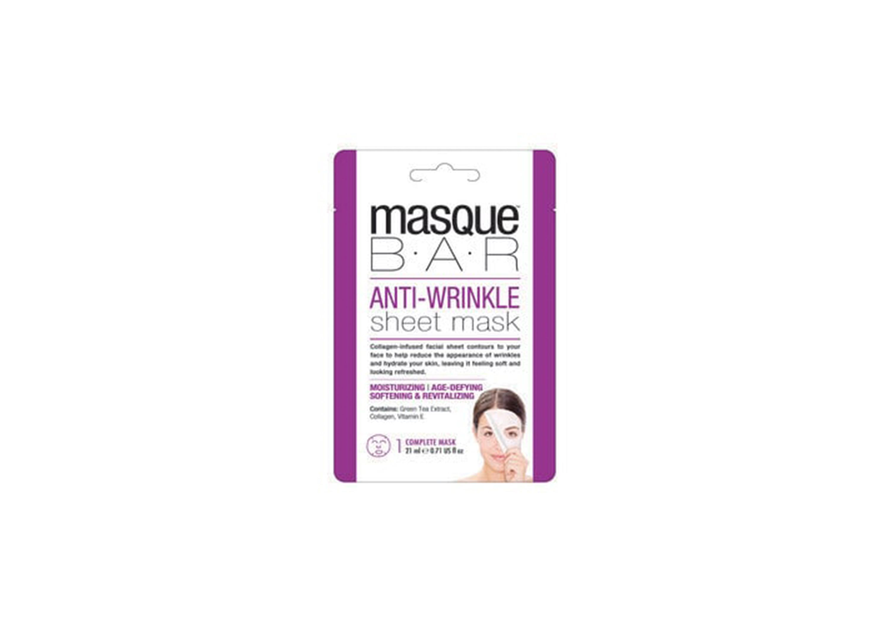 Best for Anti-Aging: Masque Bar Wrinkle-Reducing Sheet Mask