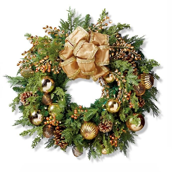 20 Elegant Christmas Wreaths to Buy Online 2018 - Best Holiday Wreath Ideas