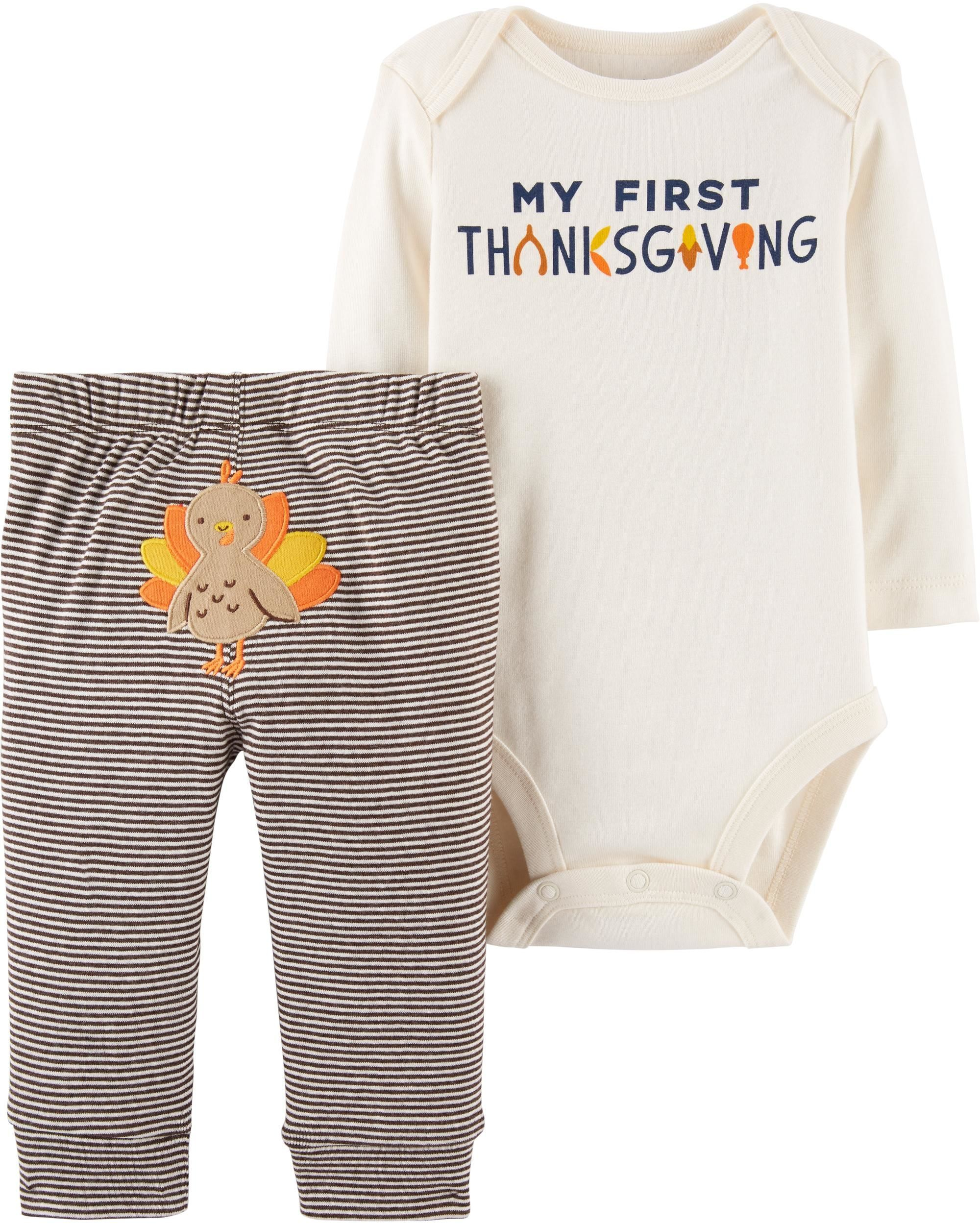 04230b4a2bfb 20 Baby Thanksgiving Outfits - Cute Girl   Boy Infant Clothes for ...