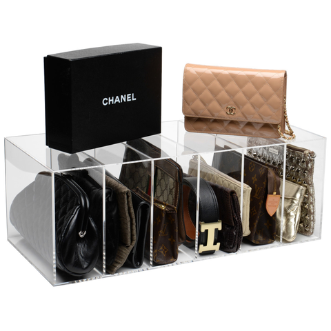 10 Organizers To Store Purses And Handbags Purse Storage