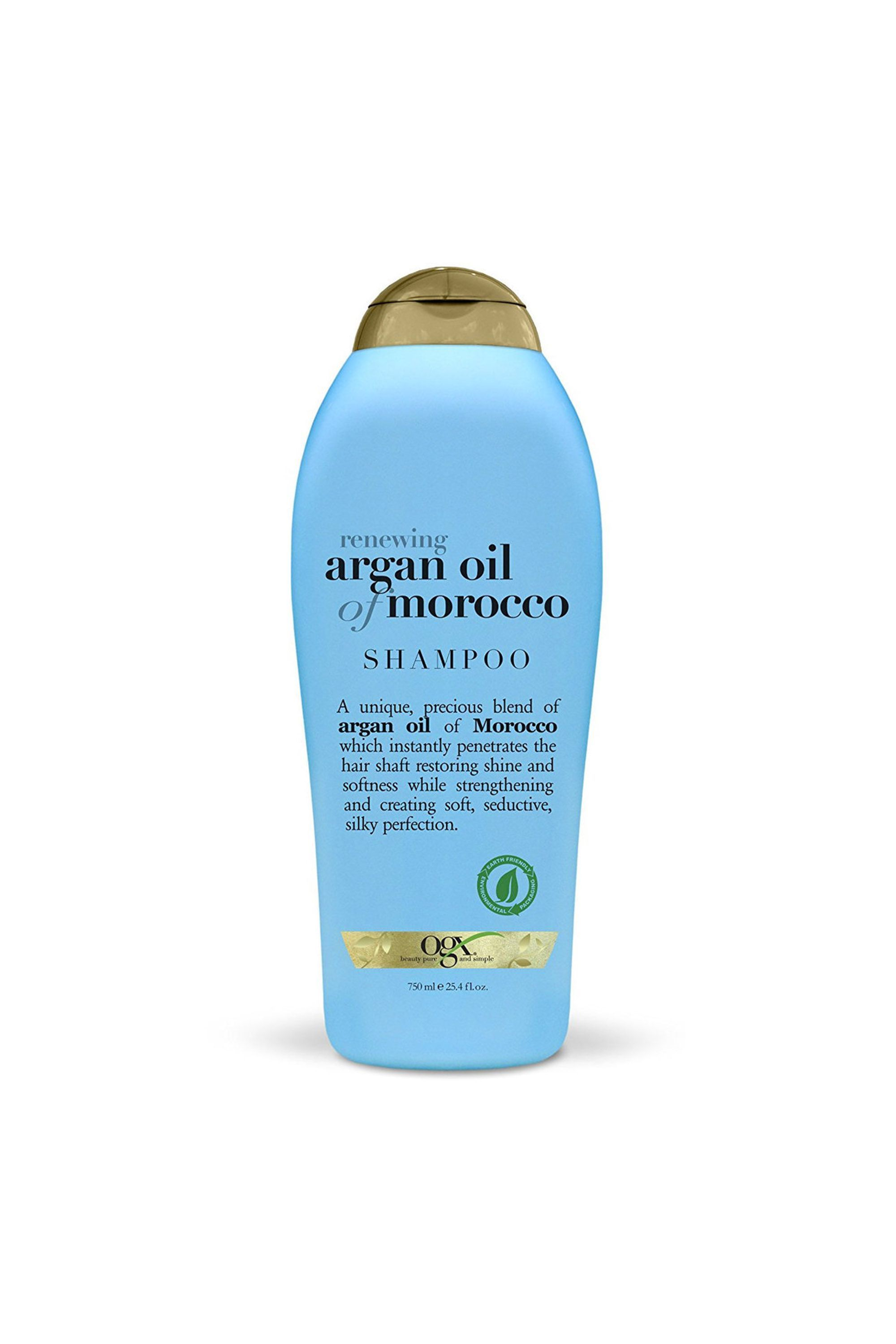 For Dry Hair Renewing Moroccan Argan Oil Shampoo OGX amazon.com $13.99 $9.84 (30% off) SHOP NOW OGX's Argan Oil of Morocco shampoo might be the secret to shinier and softer hair. The sulfate-free formula intensely hydrates and locks in moisture with the help of silk proteins.