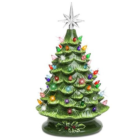 best choice products 15 inch ceramic tabletop christmas tree