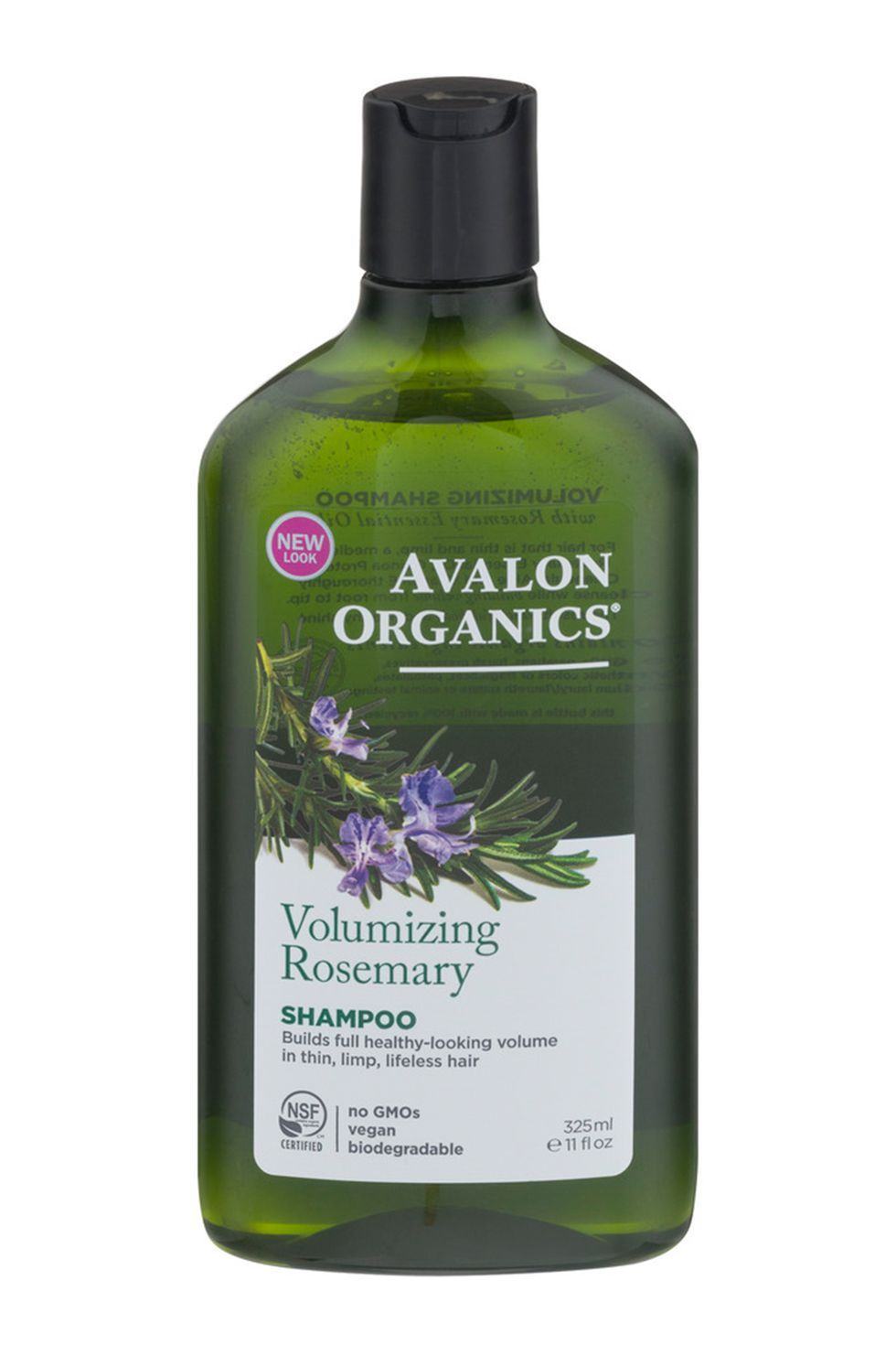 For Bigger, Fuller Hair Volumizing Rosemary Shampoo Avalon Organics amazon.com $24.39 SHOP NOW Certified organic botanicals (aloe leaf juice, rosemary extract, quinoa seed) work to plump and fluff even the limpest strands.