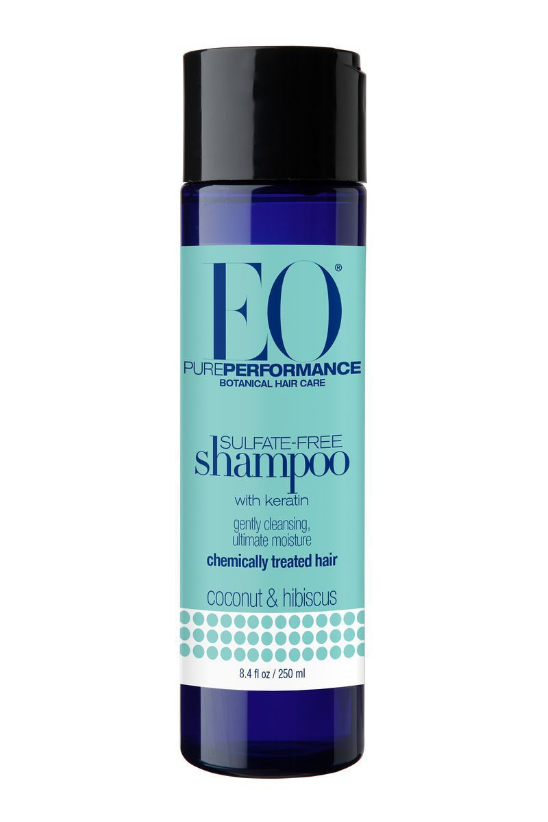 For Relaxed or Chemically Treated Hair Sulfate-Free Shampoo EO Coconut & Hibiscus target.com $8.99 SHOP NOW EO products have some of the most impressive certifications available today. Not only is each item USDA Organic—no easy feat—but they're also non-GMO, cruelty-free, gluten-free, and B Corp Certified, meaning the company is held to high ethical and environmental standards.