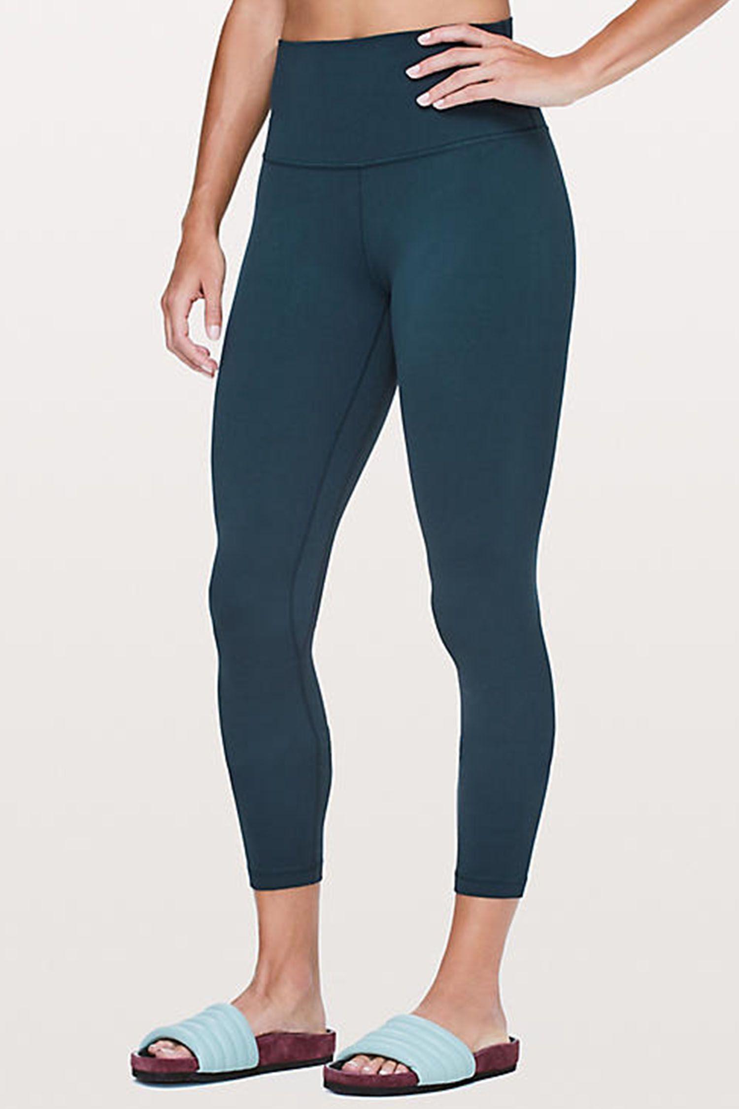 Basic Damen Leggings in schwarz 2er Pack