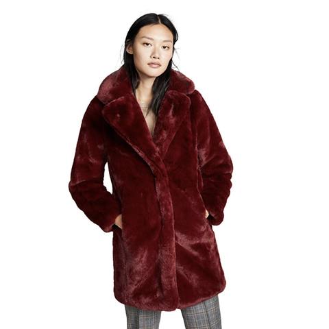 2 the fuzzy fall coat