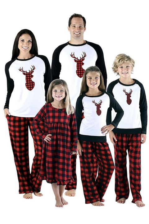 ad6a54d9143f 15 Best Matching Family Christmas Pajamas to Celebrate in the ...