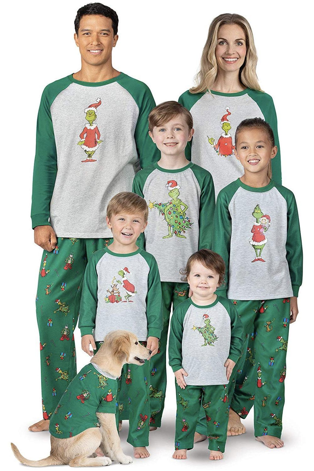 8090e5303 15 Best Matching Family Christmas Pajamas to Celebrate in the ...