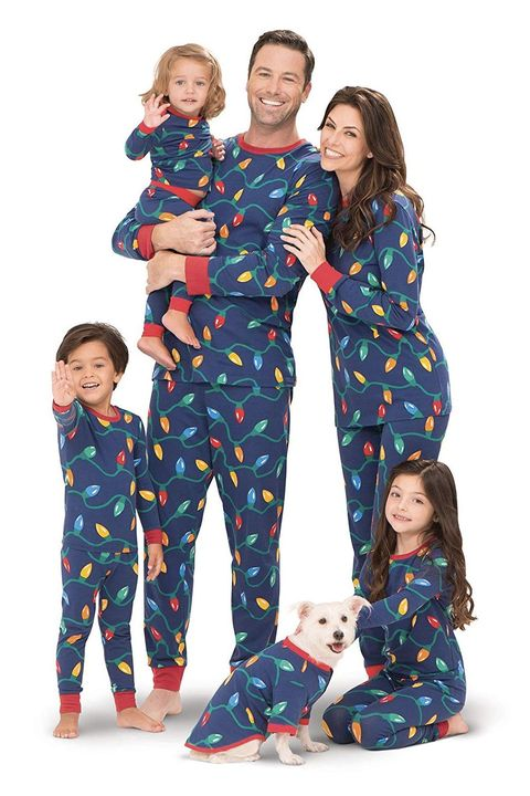 amazon christmas light pajamas