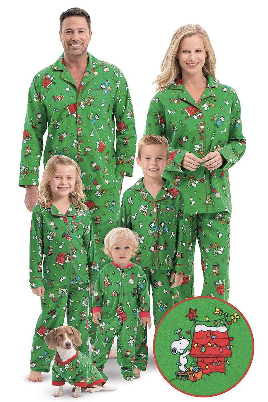 Holiday Xmas House Wear Jammies for Family Photo Shoot Christmas Matching Pajama Sets Penguin Sleepwear PJ