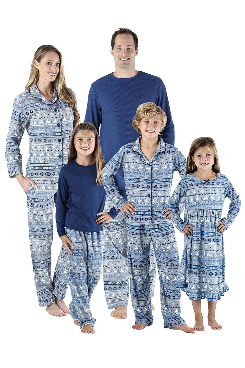 c4db42961b 15 Best Matching Family Christmas Pajamas to Celebrate in the Coziest Way  Possible