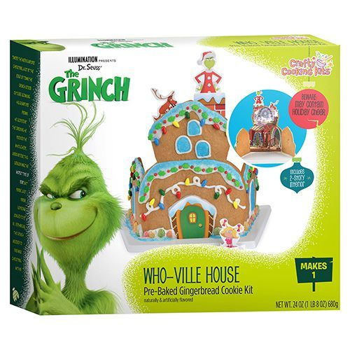 Grinch Whoville Gingerbread House Kit