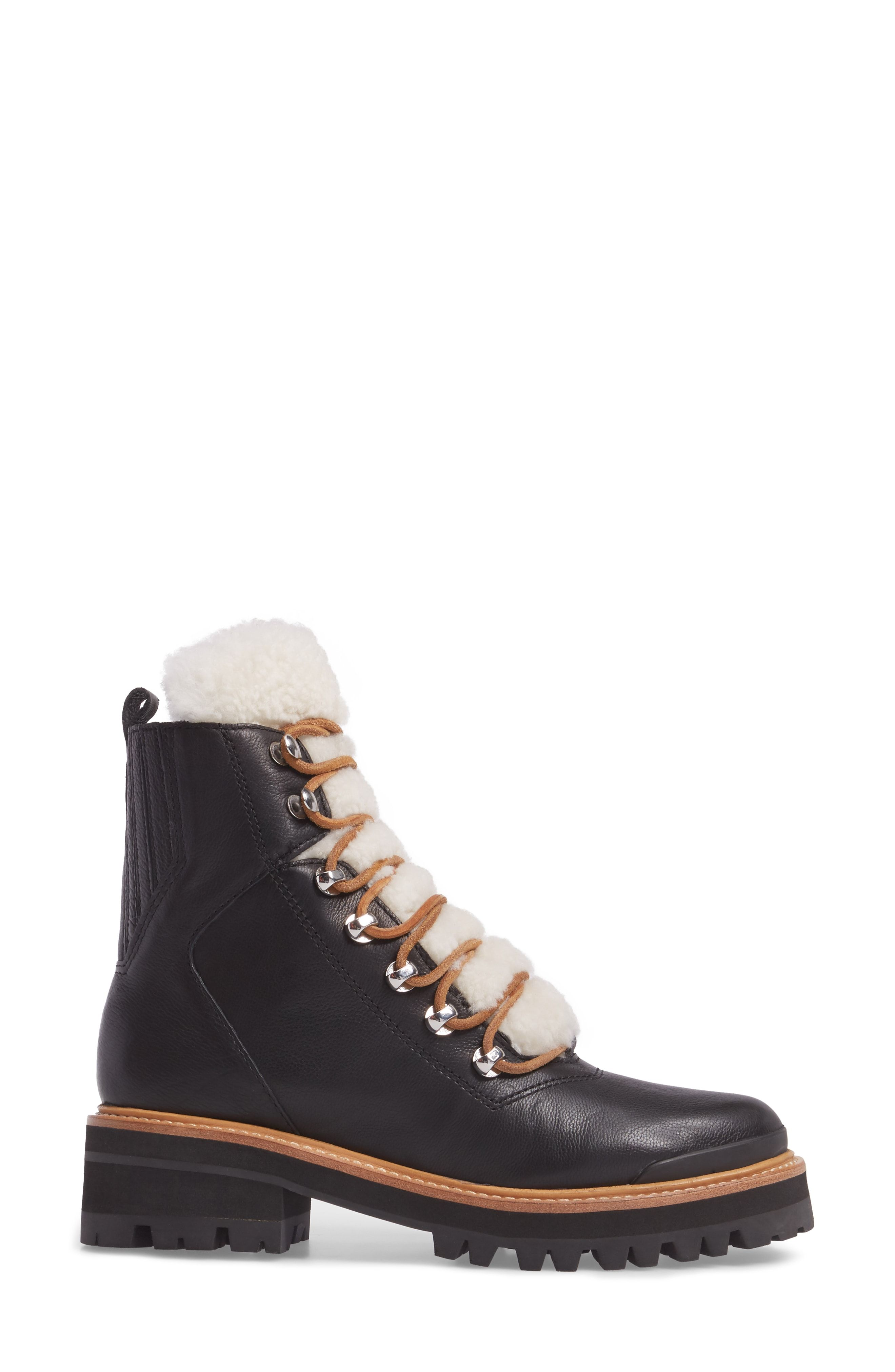 8cf747e2a48 Genuine Shearling Lace-Up Boot
