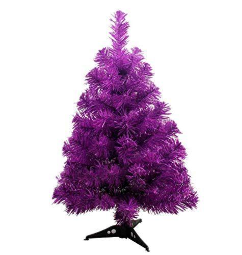 Purple Christmas.Purple Christmas Tree 2 Feet