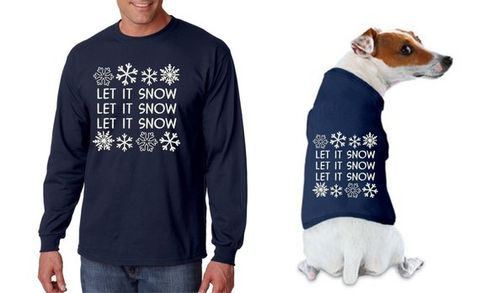 Matching Ugly Christmas Sweaters For Dog And Owner.These Christmas Sweaters Let You And Your Dog Match