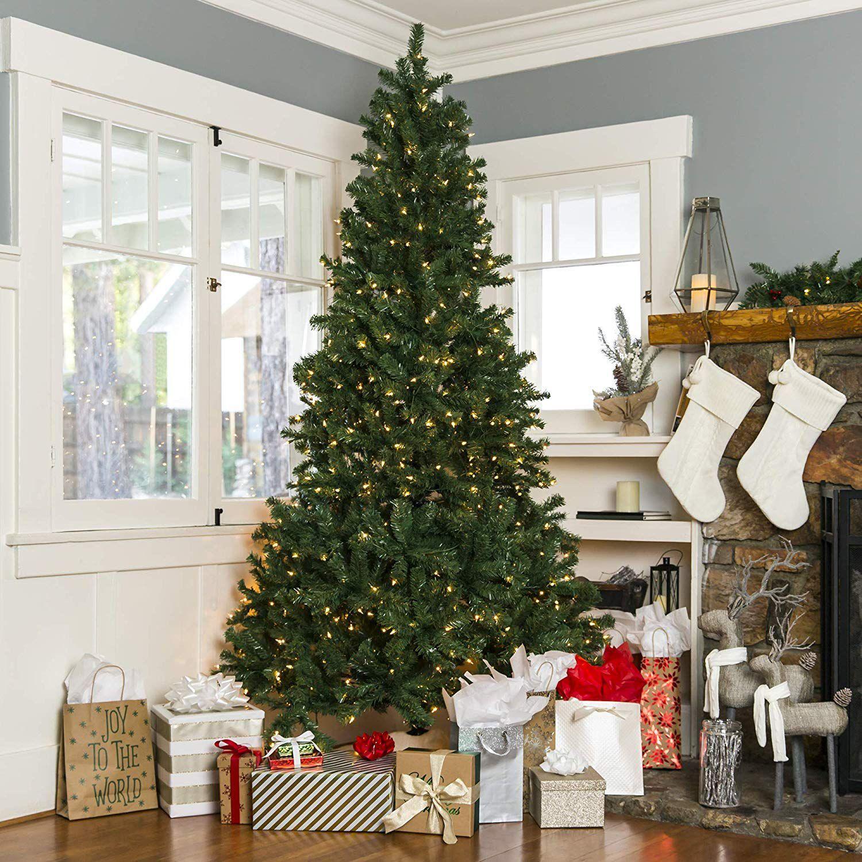 Christmas Branch Tree.7 5 Pre Lit Artificial Spruce Tree