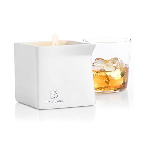 Jimmyjane Afterglow Massage Candle Bourbon 128g