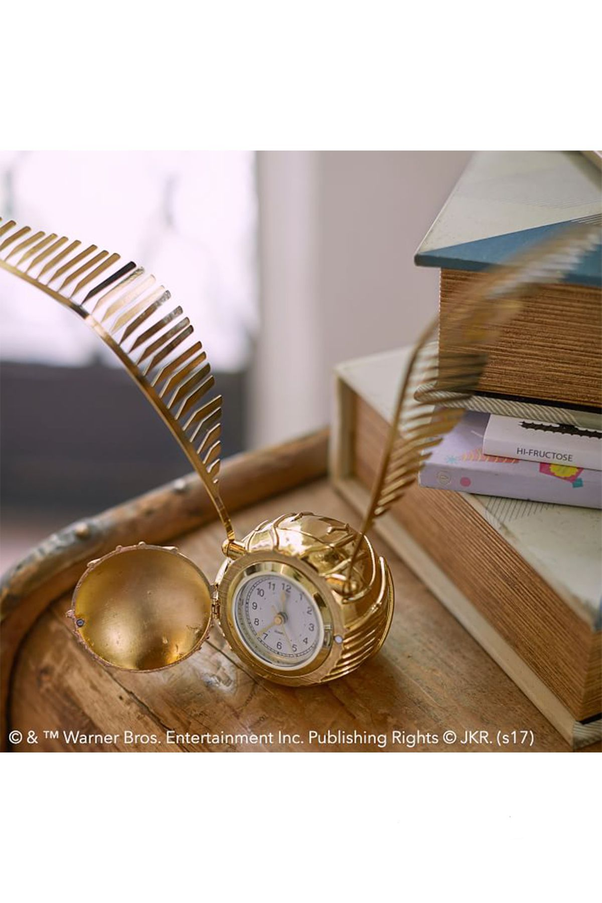 Cute Christmas Gifts For Bff.Golden Snitch Clock