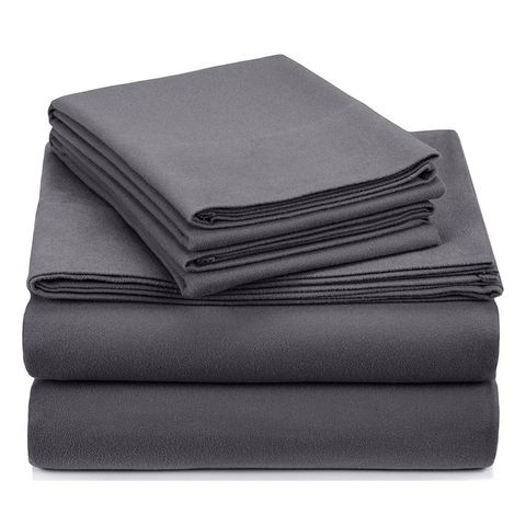 1 Pinzon Signature Cotton Flannel Sheet Set Queen Size