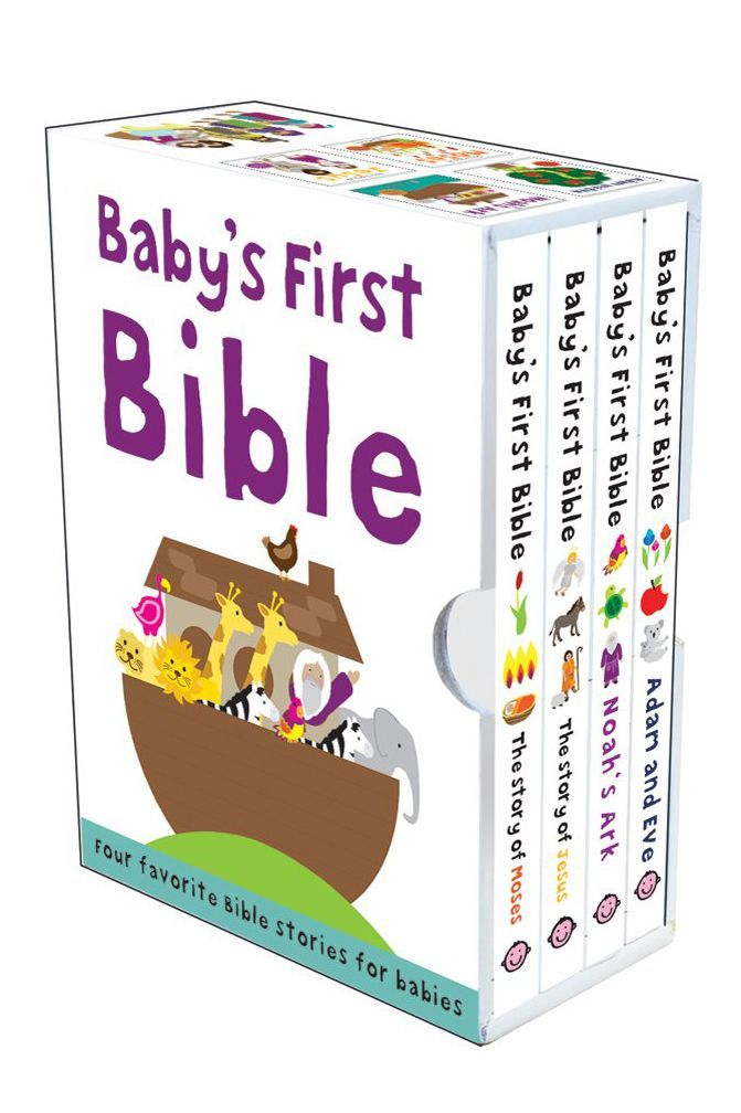 Babyu0027s First Bible Boxed Set  sc 1 st  Country Living Magazine & 18 Baby Baptism Gift Ideas for Boys and Girls - Unique Christening ...