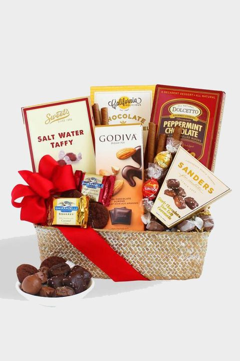 8 of 72 chocolate delight gift basket
