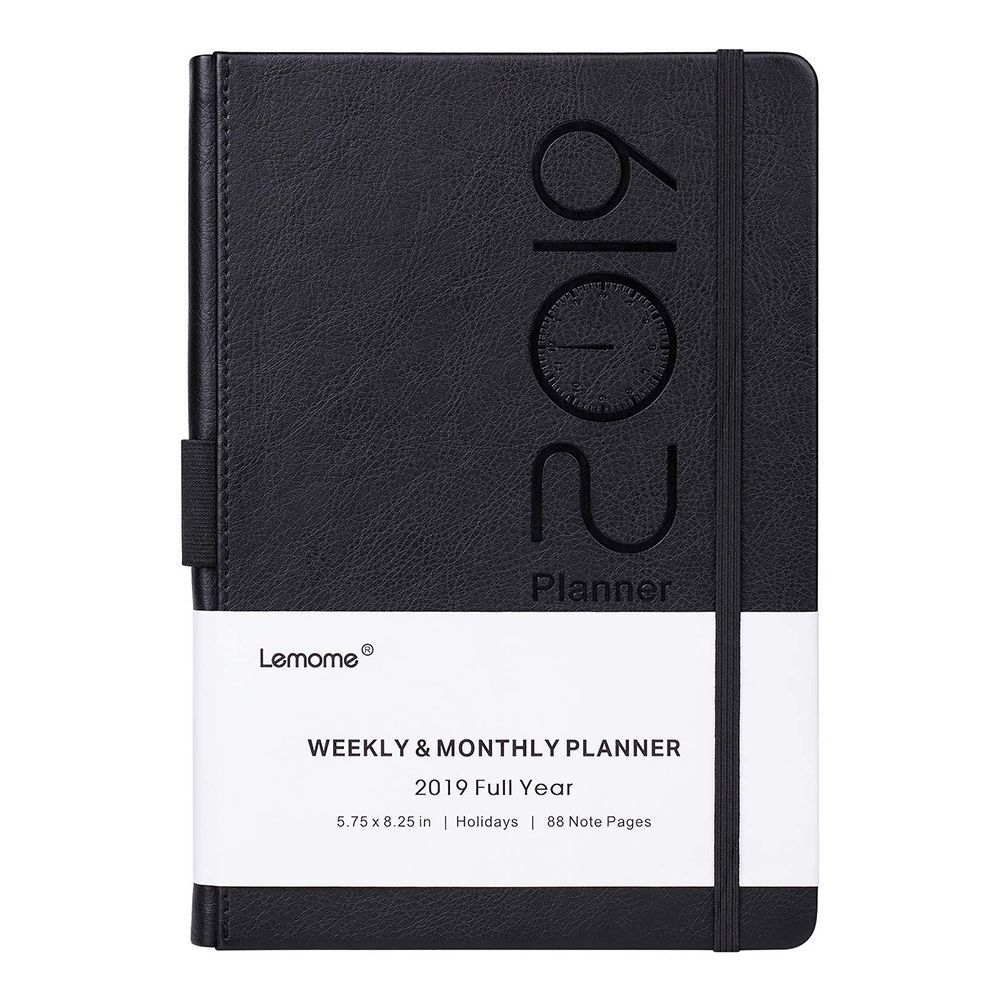 picture regarding Stylish Planners and Organizers referred to as 12 Least difficult Everyday Planners for Remaining Well prepared within just 2019