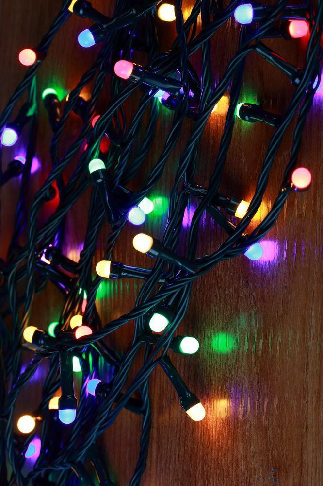 Christmas Led.Mini Globe Multi Color Led Lights