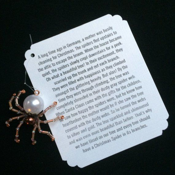 photo about Legend of the Christmas Spider Printable called The Legend of the Xmas Spider and the Heritage of Tinsel