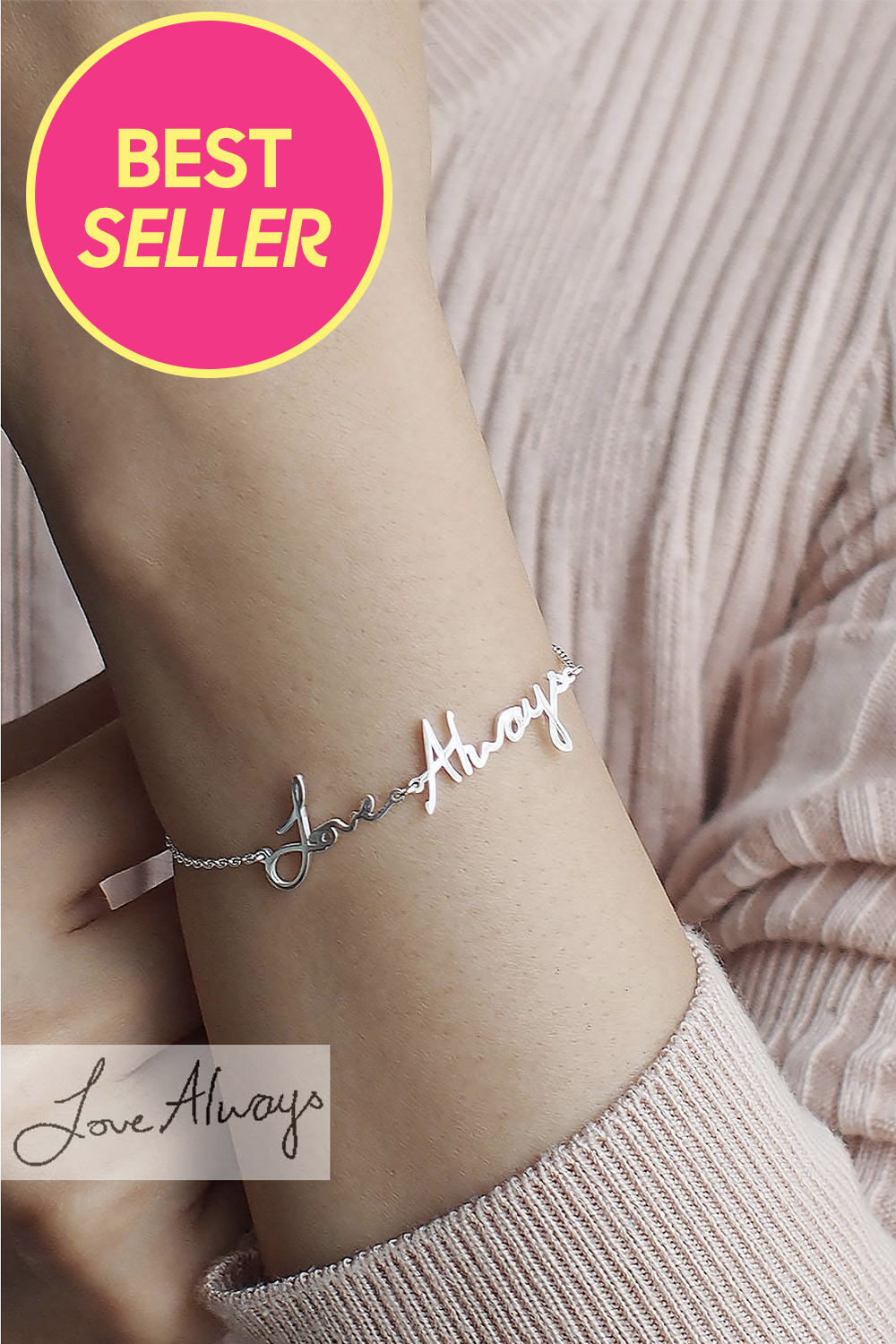 Children/'s Personalised /& Engraved 10th Birthday Bracelet For Girls with Gift...