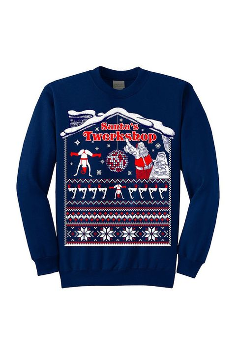d978aa29bea7 Ugly Christmas Sweaters 2018 - Tacky Holiday Sweater Ideas