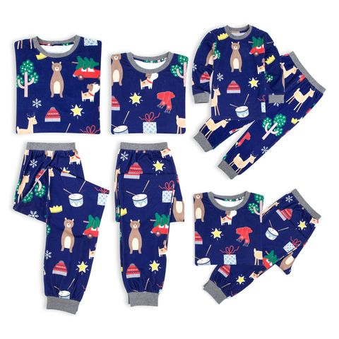 christmas family matching sleepwear