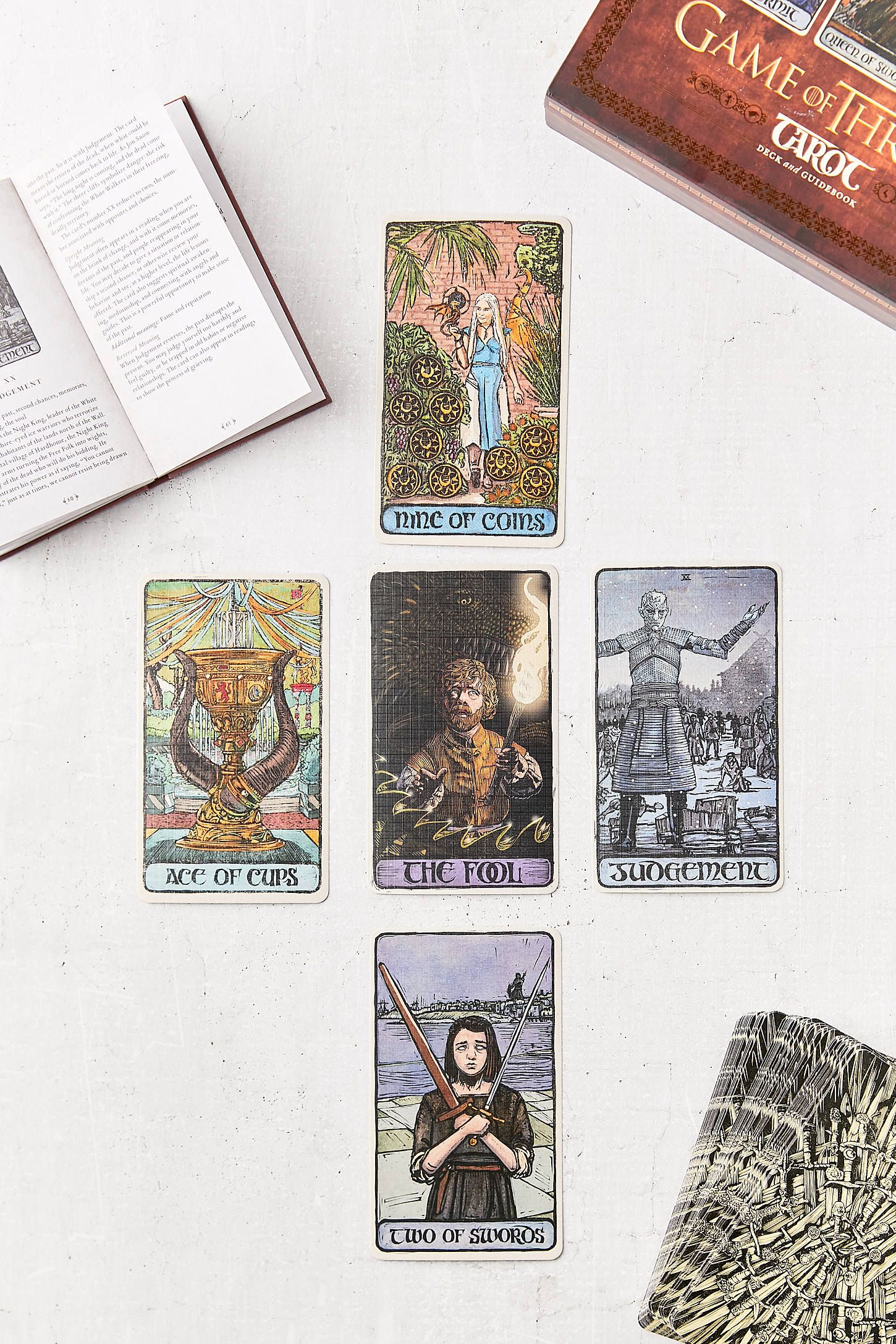 Game Of Thrones Tarot Card Deck