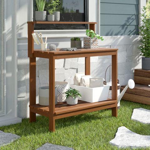 20 Best Potting Benches - Garden Work Benches With Storage