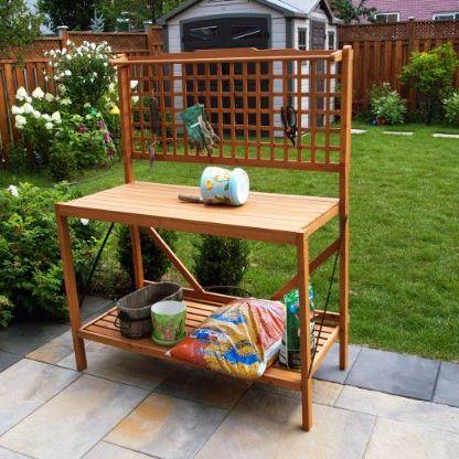 Pleasant 20 Best Potting Benches Garden Work Benches With Storage Interior Design Ideas Grebswwsoteloinfo