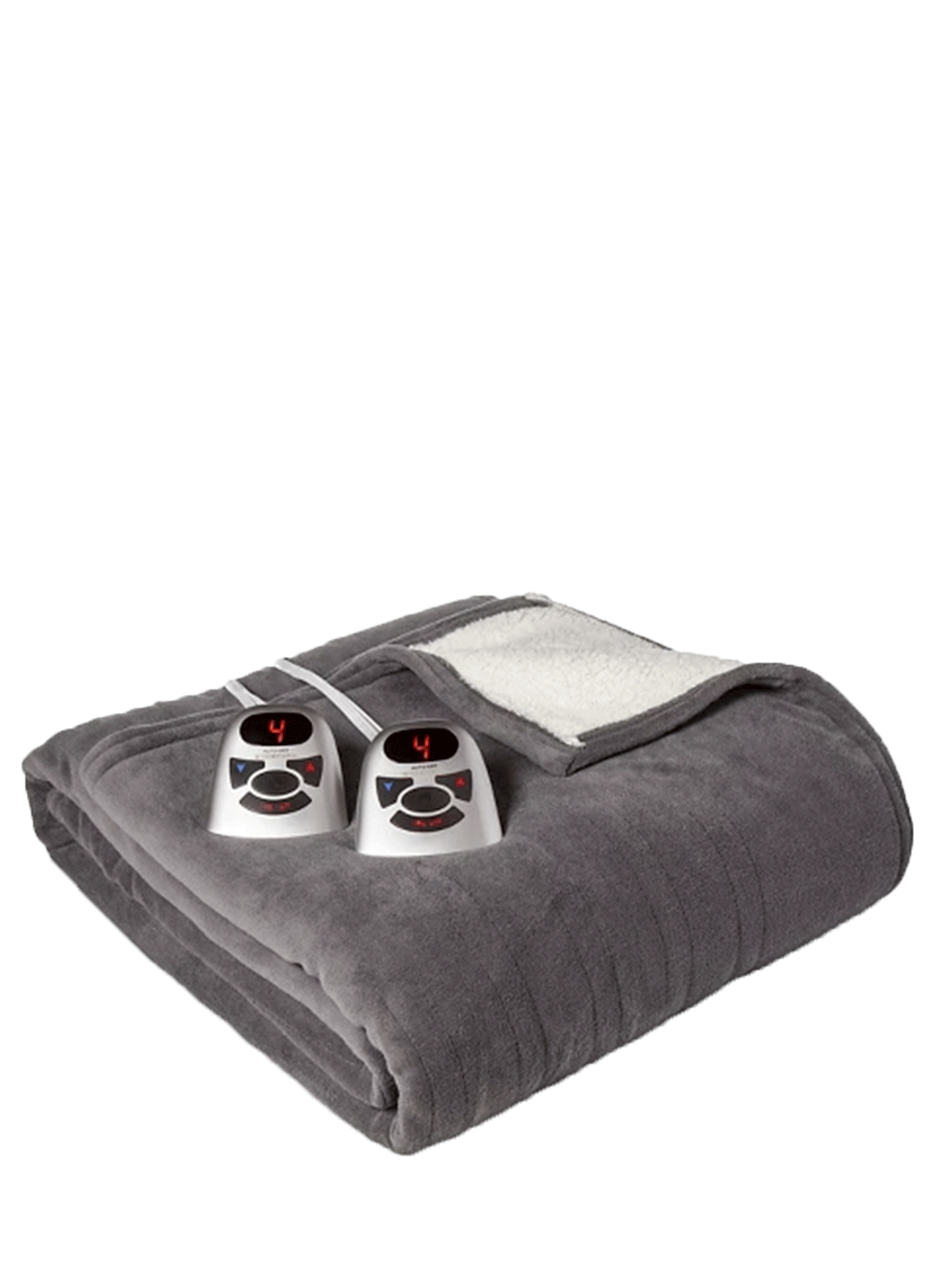 Microplush With Sherpa Electric Blanket