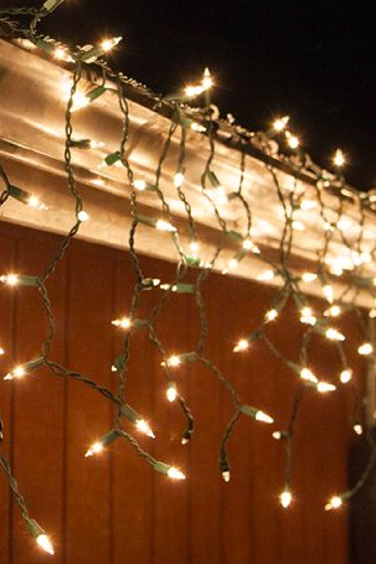 Christmas Lights.Mini Icicle Lights