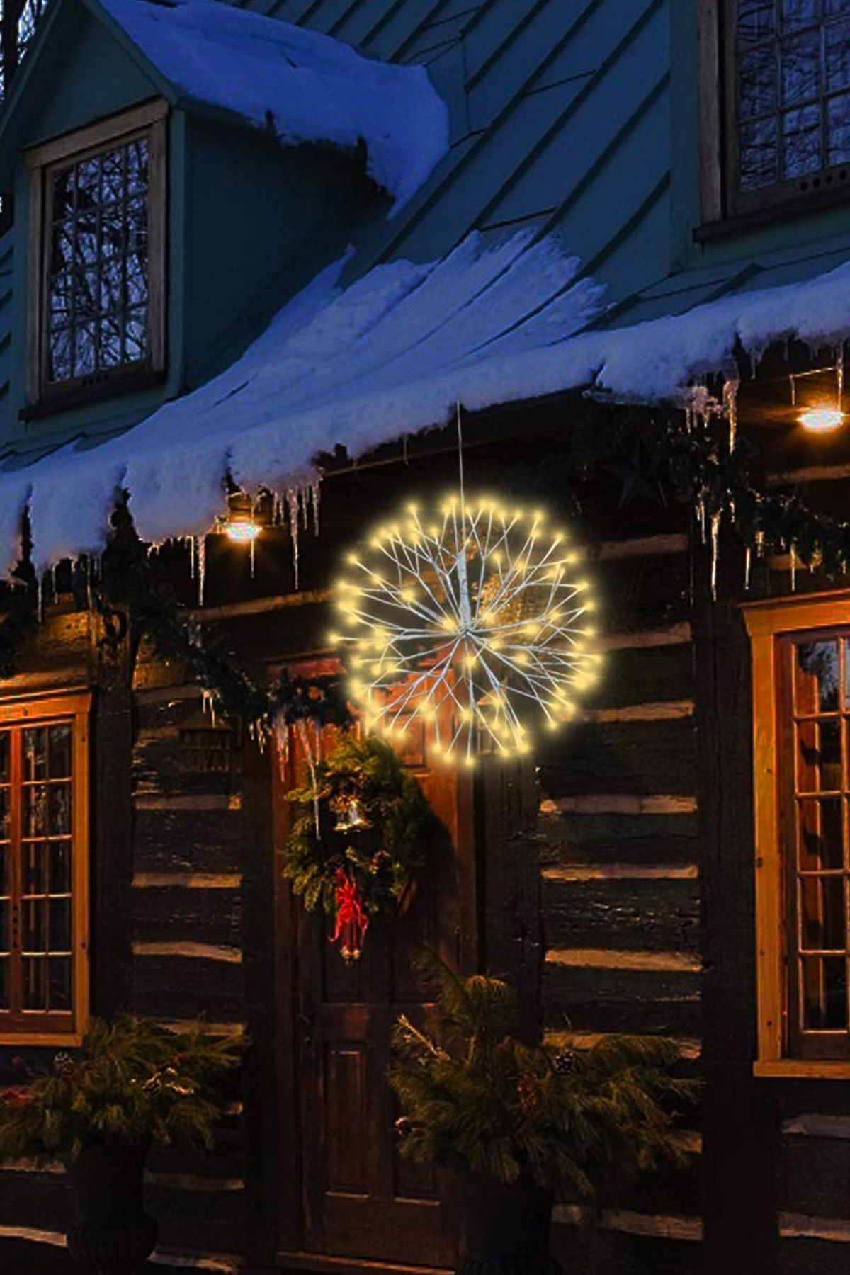 20 Best Outdoor Christmas Lights - Lighted Holiday Decorations for ...