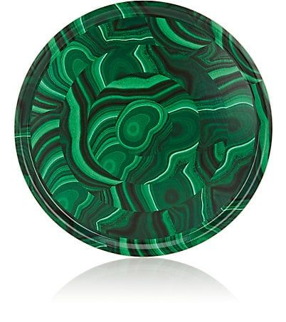 Tisch New York Malachite-Print Tray