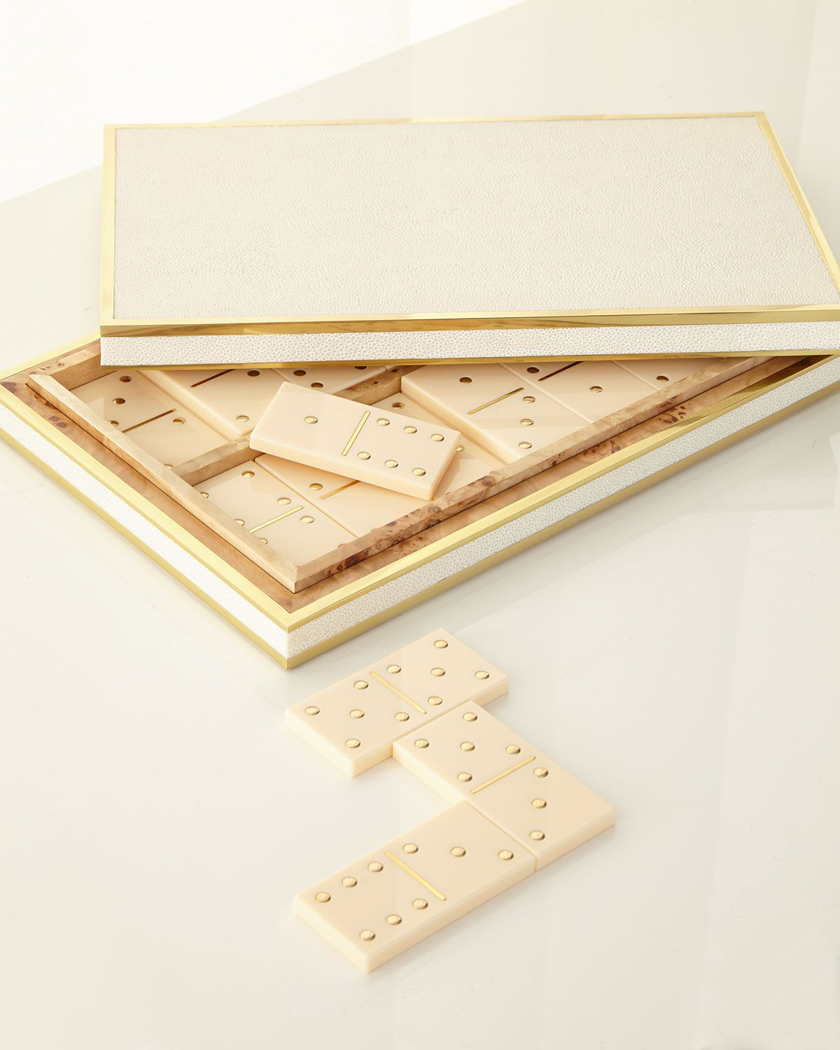 Aerin Shagreen Domino Set