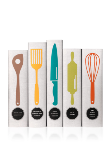 Classic Utensils Cookbook Set