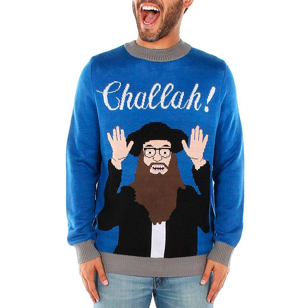 496431b9 12 Best Ugly Hanukkah Sweaters for 2018 - Funny Hanukkah Sweaters & Jumpers