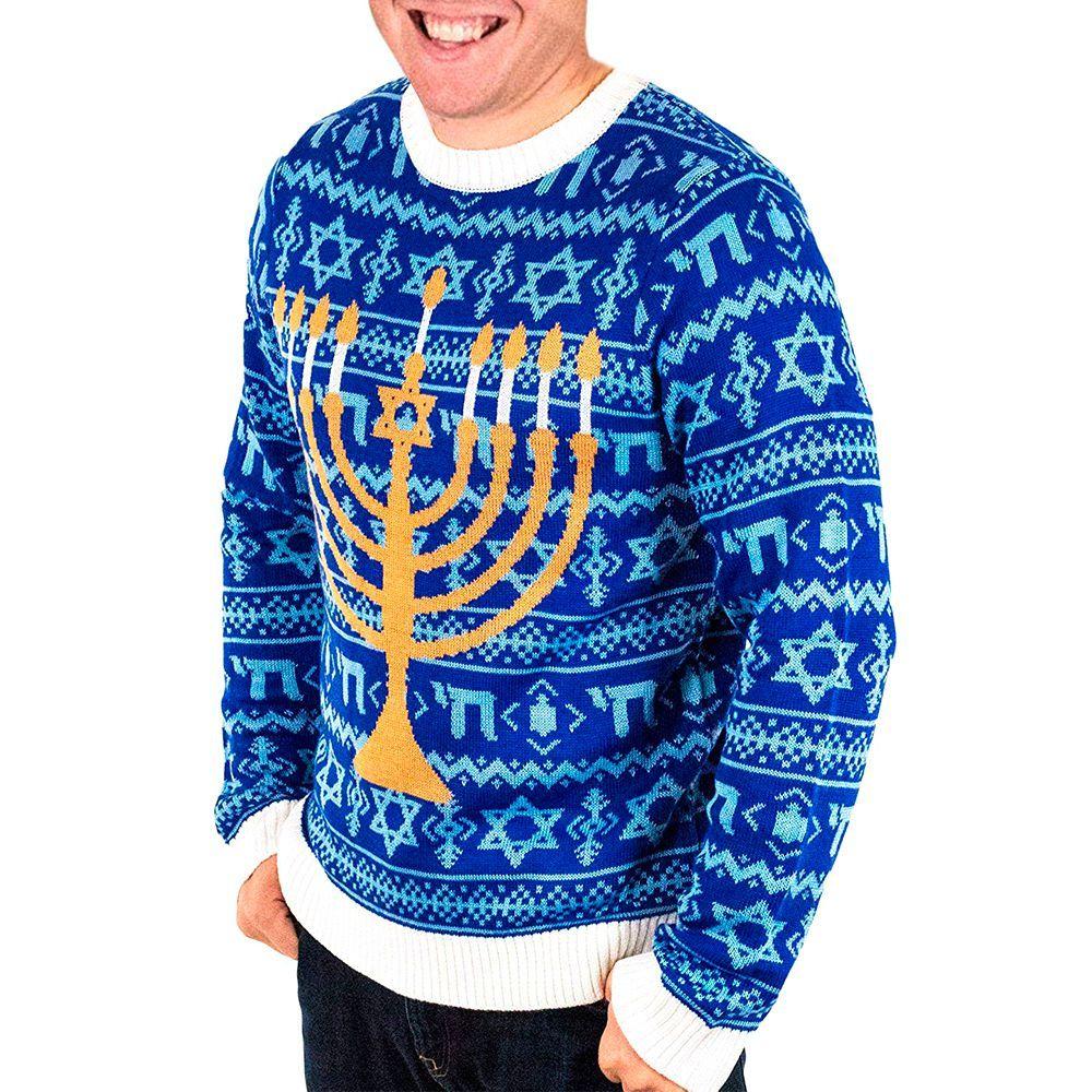 12 Best Ugly Hanukkah Sweaters For 2018 Funny Hanukkah Sweaters