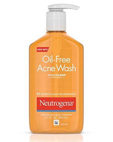 Neutrogena Acne Wash, Oil-Free, 9.1 oz by Neutrogena