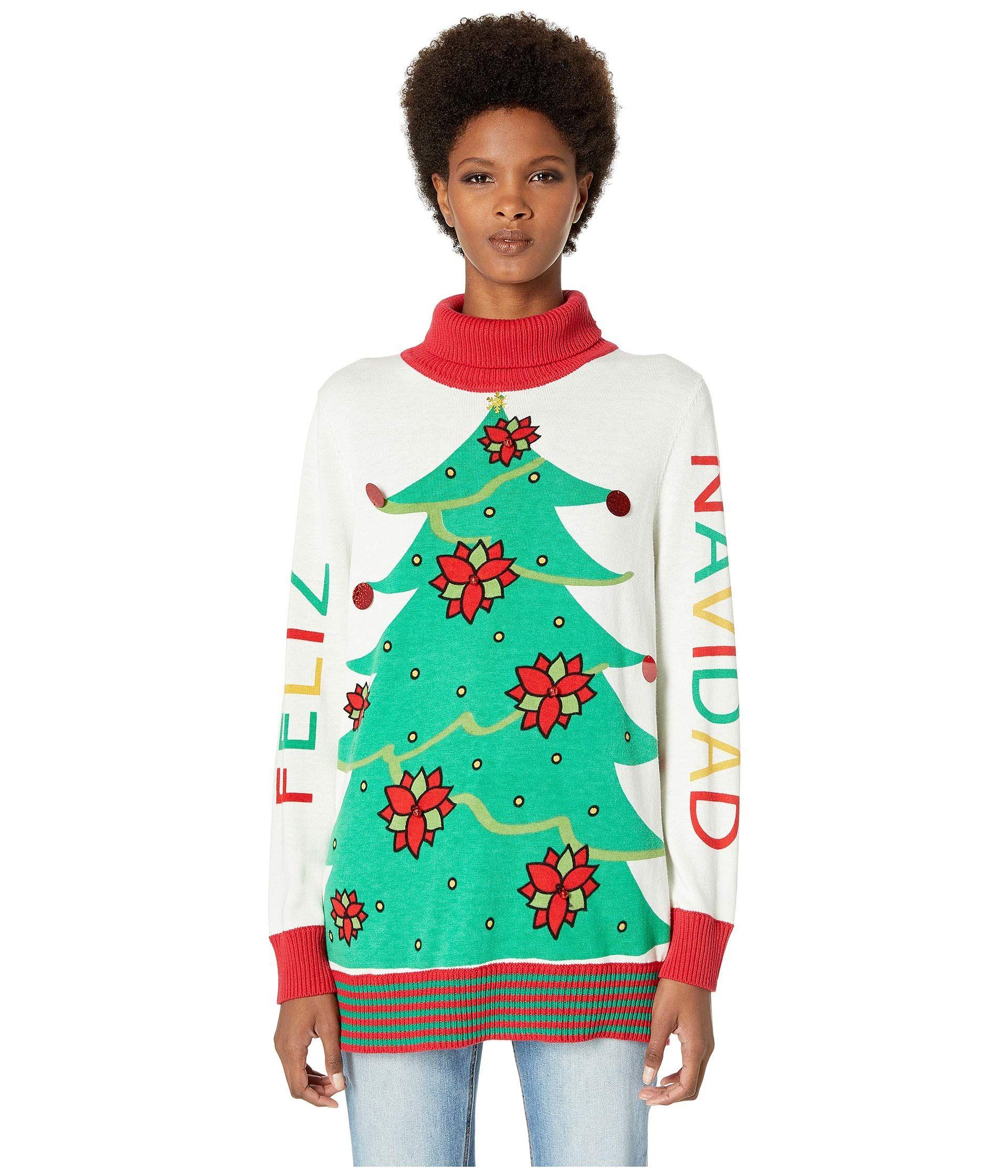 342238e3 Whoopi Goldberg Ugly Christmas Sweater Line at Zappos 2018