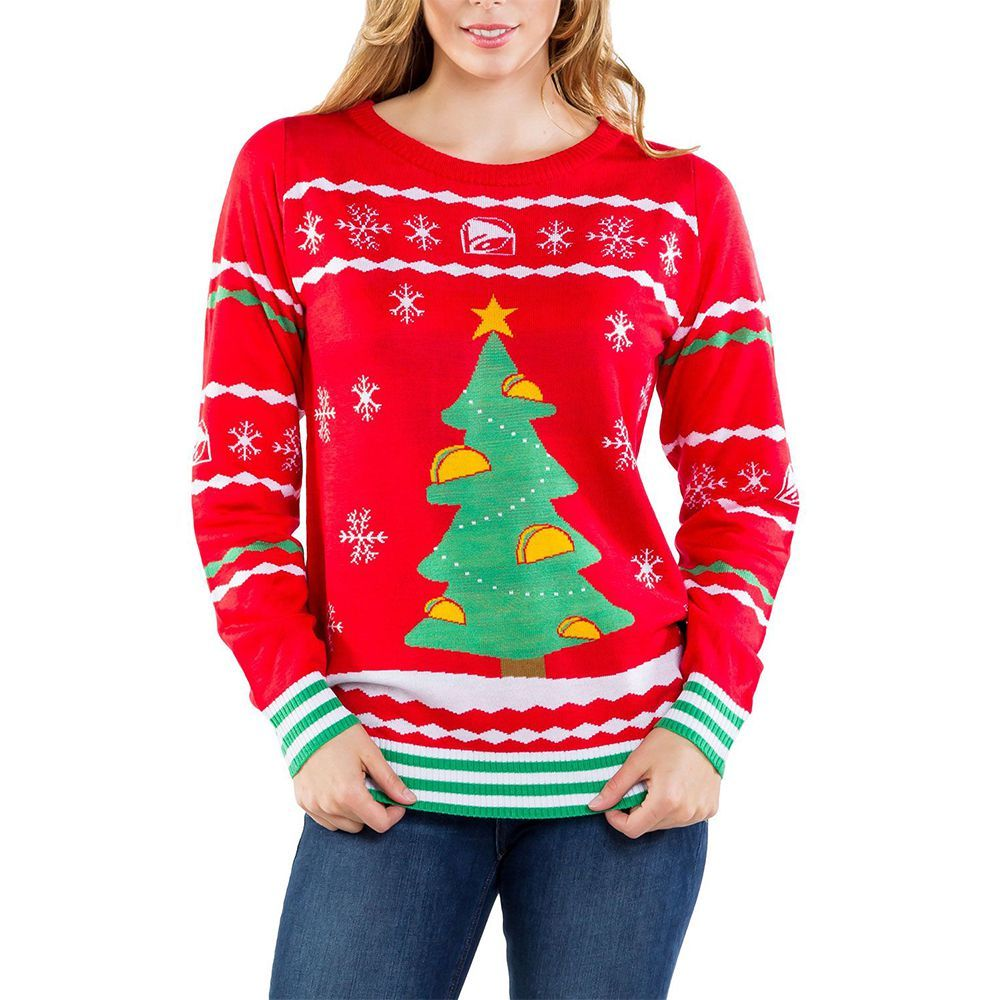 f9296548432 Taco Bell s Holiday Collection Includes Ugly Christmas Sweaters and ...